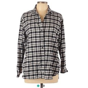 Madewell Long Sleeve Button-up Flannel